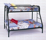 Coaster 2258K TWIN/FULL BUNK BED, BLACK