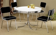Coaster 2388 Cleveland Black Dining Set