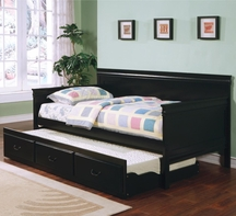 Coaster 300036BLK DAYBED BLACK