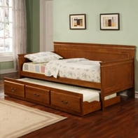 Coaster 300036OAK DAYBED OAK