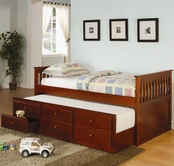 Coaster 300105 TRUNDLE BED CHERRY