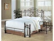 Coaster 300161Q-62 Iron Green Finish Bedroom Set
