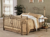 Coaster 300171Q-72 Iron Brushed Gold Bedroom Set