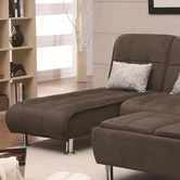 Coaster 300277 CHAISE SOFA BED
