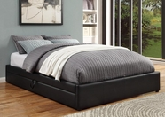 Coaster 300386Q QUEEN BED (RICH BLACK)