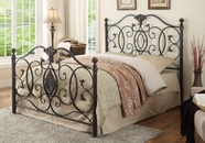Coaster 300392Q QUEEN BED (ANTIQUE BLACK)