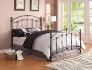 Coaster 300395Q QUEEN BED (ANTIQUE BRASS)