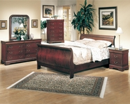 Coaster 3981NQ-83N-84N BEDROOM SET