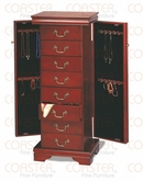 Coaster 3988 JEWELRY ARMOIRE