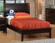 Coaster 400181F FULL PLATFORM BED (CAPPUCCINO)