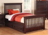 Coaster 400601F FULL BED (CAPPUCCINO)