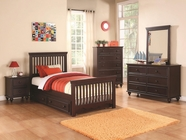 Coaster 400601T-03-04 KIDS BEDROOM SET (CAPPUCCINO)
