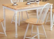 Coaster 4147 Damen Natural Dining Set