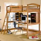 Coaster 460053 TWIN WORKSTATION BUNK