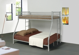 Coaster 460062 BUNK BED, SILVER
