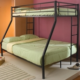 Coaster 460062B BUNK BED, BLACK