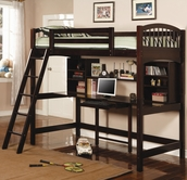 Coaster 460063 TWIN WORKSTATION BUNK