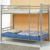 Coaster 460072 BUNK BED, SILVER