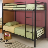 Coaster 460072B BUNK BED, BLACK