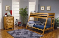 Coaster 460093 Twin/Full Bunk Bed