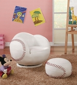 Coaster 460177 SM KIDS BASEBALL CHAIR