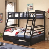 Coaster 460181 BUNK BED (NAVY BLUE)