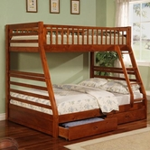 Coaster 460183 TWIN/FULL BUNK BED