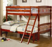 Coaster 460222 TWIN/FULL BUNK BED