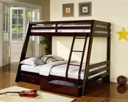 Coaster 460228 TWIN/FULL BUNK BED