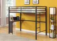 Coaster 460229 TWIN WORKSTATION BED (GUNMETAL)