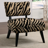 Coaster 460505 CHAIR (ZEBRA)