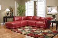 Coaster 500897-98-99 Modular Sectional Red 5PC SET