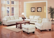 Coaster 501691-92 Leather Living Room Set