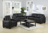 Coaster 502721 Leather Sofa Set