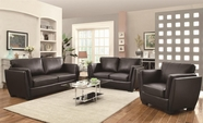Coaster 503684 Lois Leather Sofa Set
