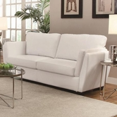 Coaster 503687 SOFA (WHITE)