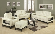 Coaster 504421 Paige Leather Sofa Set
