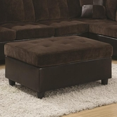 Coaster 505646 OTTOMAN (CHOCOLATE)