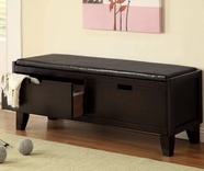 Coaster 508005 STORAGE BENCH (DARK WALNUT)