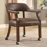Coaster 517BRN CHAIR