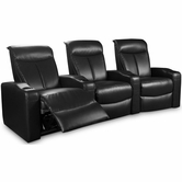Coaster 600123LR-ER-XRR Estella Contemporary 3 Seat Theater Seating Group