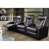 Coaster 600130ER-LR-XRR Pavillion Contemporary Leather Theater Seating