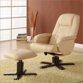 Coaster 600141 CHAIR/OTTOMAN