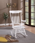 Coaster 600174 ROCKING CHAIR (WHITE)