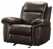 Coaster 601043 GLIDER RECLINER (TWO TONE BROWN)