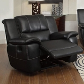 Coaster 601063 GLIDER RECLINER (BLACK)