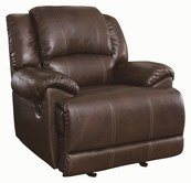 Coaster 601183 GLIDER RECLINER (CHESTNUT)