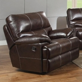 Coaster 601273 GLIDER RECLINER (BURGUNDY)
