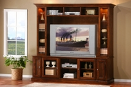 Coaster 700231 Marlot Oak Entertainment Wall Unit