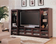 Coaster 700608-L-R-P Wall Unit 4Pc Set